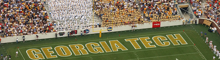 Bobby Dodd football end zone